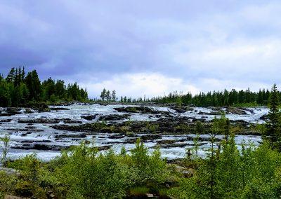 Trappstegsforsen i Saxnäs